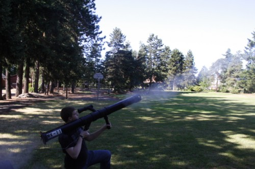paintball rocket launcher
